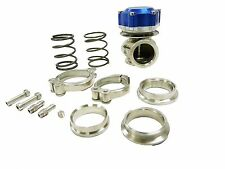 Maximizer Anodized Aluminum BLUE 40mm V-Band External Wastegate Waste Gate WG