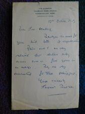 More details for margaret thatcher, rare early autograph letter signed excellent content 1959