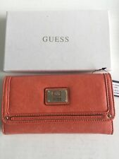 Guess Coral Wallet - Brand New In Box - RRP $65