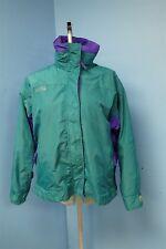 04899 Columbia Teal Green, Purple 3 in 1 Women's Coat Jacket Sz M