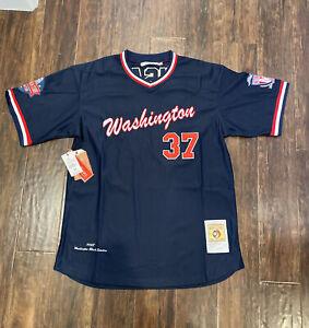 Washington Black Senators Negro League Baseball Jersey Headgear Size Medium $100