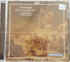 Various - Wind Concertos Vol.8 CD Cpo NEU OVP 330 Teleman