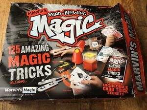bnib Marvins Mind Blowing 125 Magic Tricks