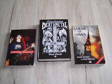 3 Bücher (Deutsch) Unheilige Allianzen , Lords of Chaos , Schweden Death Metal