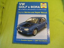 VW Golf & Bora  Manual HARD BACK