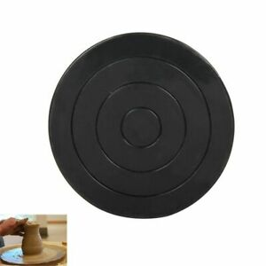 Plastic Turntable Pottery Clay Sculpture Tools 360° Flexible Rotation Durable
