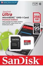 SanDisk 256GB Ultra 95MB/s Class 10 Micro SD SDXC Memory Card BRAND NEW