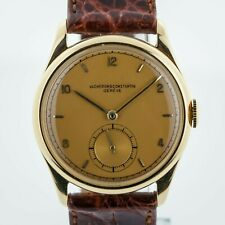 Vacheron Constantin, Vintage 18K Solid Yellow Gold, Manual, Champagne Dial, 1964