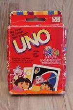 Jeu My first / Mon premier UNO Dora l'Exploratrice - cartes géantes - complet