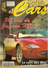 BRITISH CARS 37 JAGUAR XK 120 140 150 XKR LAND ROVER 50 ROVER 2000TC FORD ZODIAC