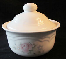42cc27fe836 New ListingPFALTZGRAFF TEA ROSE LARGE ROUND BUTTER OR CHEESE DISH WITH  DOMED LID 1 OF 2