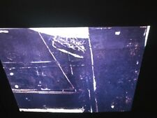 "Antoni Tapies ""Big Black & Cracked"" Spanish Art 35mm Glass Slide"