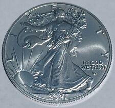 2021 1 oz. American Silver Eagle $1 Coin .999 Silver Type II design