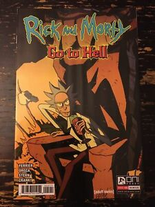 Rick & Morty: Go to Hell #5 (Oni Press) Free Combine Shipping