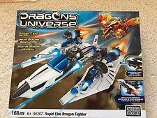 New - Mega Bloks Dragon Universe - Rapid Fire Dragon Fighter 95207
