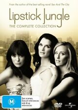 Lipstick Jungle : Season 1-2 (DVD 2009, 5-Disc Set) Regions 2,4&5 Used Like NEW