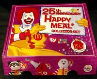 Ty Beanie Babies 25th Anniversary McDonald's Happy Meal Collector Set