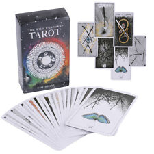 78Pcs The Wild Unknown Tarot Deck Rider-Waite Oracle Set Fortune Telling Card B$