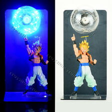 "Dragon Ball Super Saiyan Son Goku +Vegeta form Gogeta Figure 14"" Statue LED Lamp"