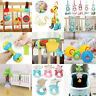 Baby Plastic Educational Toys Rattle Ring Hand Shake Bell Ring Rattles Grasp Toy