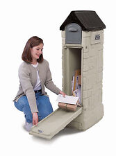 Large Secure Locking Lockable Security Residential Architectural Mailbox Safe