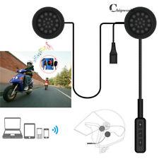 Motorbike Motorcycle Intercom Bluetooth Helmet Headset Handsfree Earphone Call