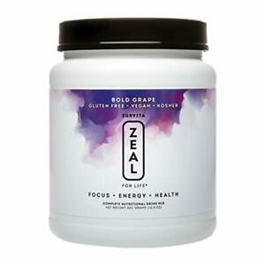 Zurvita Zeal for Life 30-Day Wellness Canister 420 Grams Bold Grape