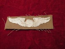 US ARMY Observer  wing Khaki Cloth Insignia Embroidered on twill unused