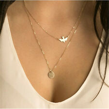 Jewelry Accessory 2 Layers Pendant Necklace Necklace Women Summer Decor