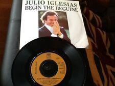 JULIO IGLESIAS . BEGIN THE BEGUINE ( VOLVER A EMPEZAR )  1981 U.K. Number 1 Hit