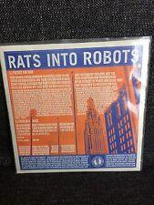 """Textbook Traitors / Rats Into Robots - Split 7"""" Magic Bullet Records Hardcore"""