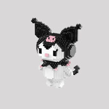 1156pcs Cute Kuromi Building Bricks Toys For Kids Figure Doll Toy Birthday Gift