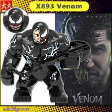 Venom Spider man Minifigure Big size 8cm New Figure Marvel DC Comics lego MOC