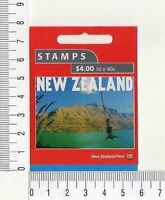 11637) New Zealand Cplt Booklet 2001 #1728a S/A MNH 100 Years Of Tourism 40c