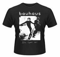 Official Bauhaus T Shirt Bela Lugosi's Dead Black Classic Rock Metal Band Tee