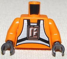 LEGO NEW STAR WARS REBEL PILOT LUKE SKYWALKER MINIFIGURE FIG TORSO