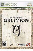 Elder Scrolls IV Oblivion Xbox 360/One Game Disc Only  Rpg 4