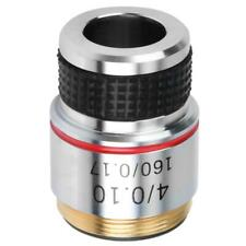 4X 185 Microscope Achromatic Objectives 20mm Mounting Thread Lens Length 30.5mm