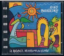 NINO BUONOCORE  LA NATURALE INCERTEZZA DEL VIVERE CD F.C. SIGILLATO!!!