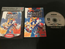 Sonic Heroes Play Station 2 PS2 PAL