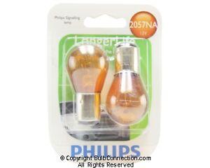 NEW Philips 2057NA Automotive 2-Pack 2057NALLB2 Bulb