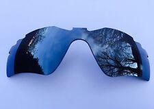 SPECCHIO d'argento a specchio di ricambio Oakley Radar Path VENTILATO Lens & Pouch