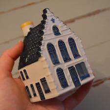 New! 2004 #49 KLM Bols Delft miniature house sealed porcelain excellent rare