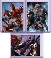 2015 Marvel Avengers Silver Age Case Topper Set (3 cards) CT1 CT2 CT3