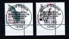 BRD 2003 gestempelt ESST Berlin Eckrand unten rechts MiNr. 2313-2314  SWK