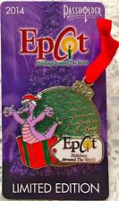 NEW Disney 2014 Epcot Holidays Around the World Figment Ornament Trading Pin LE