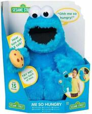 Sesame Street Hand Puppet Talking Plush Doll - Cookie Monster BLUE