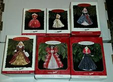 Hallmark ornaments collectibles  Holiday Barbie Full Series (1993-1998). NEW