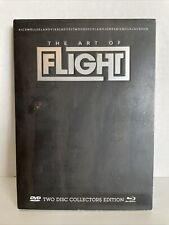 Brain Farm Art Of Flight Combo Pack Snowboard DVD/Blu-Ray Quicksilver RedBull