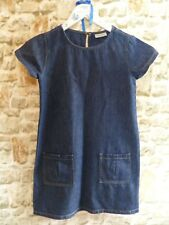 Next Girls Denim Dress/Tunic, A line with pockets 10 Years